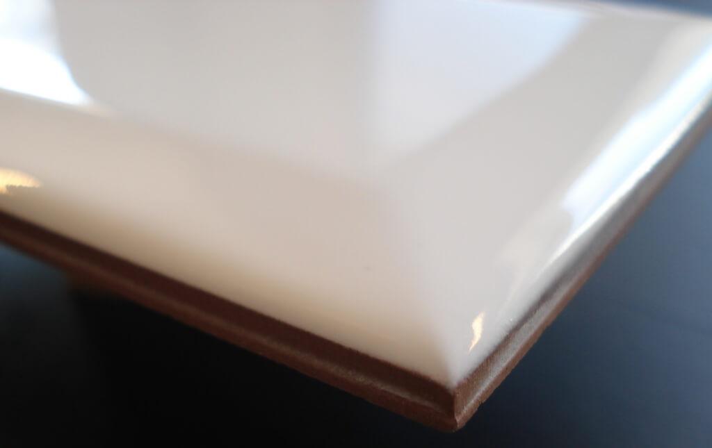 Facet Tegels Wit : Biselado facet blanco 10x20cm tegel uitverkoop