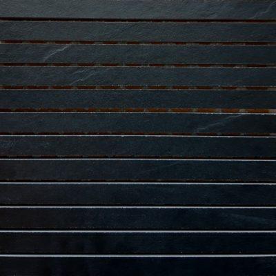 Keraselect Ardesia Noir 1,7x29 Mosaico 30x30cm