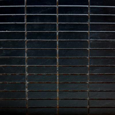 Keraselect Ardesia Noir 1,7x7 Mosaico 30x30cm
