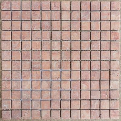 MTC Rosso Verona 2,3x2,3 Mozaïek 30,5x30,5cm