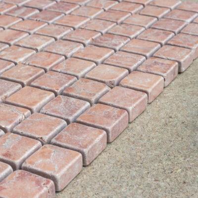 MTC Rosso Verona 2,3x2,3 Mozaïek 30,5x30,5cm_2
