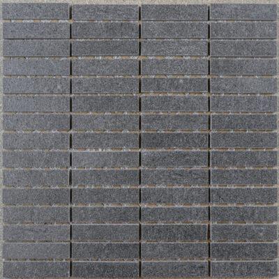 KeraSelect Basaltina Nero Super Lappato 1,7x7 Mozaïek 30x30cm