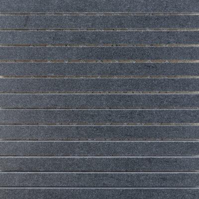 KeraSelect Basaltina Nero Super Lappato 1,7x29 Mozaïek 30x30cm
