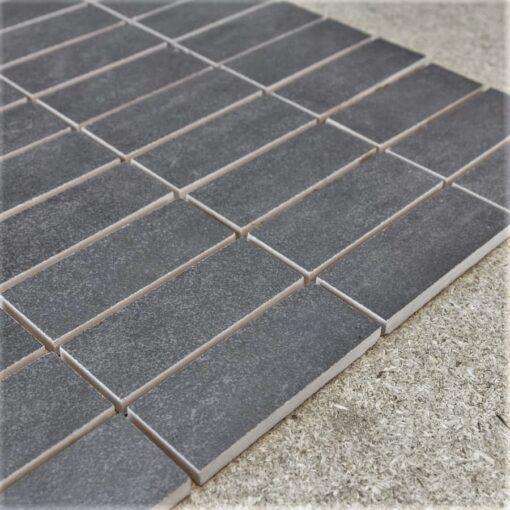Ceratile Fusion Grey 3x8 Mozaiek 33x33cm_3
