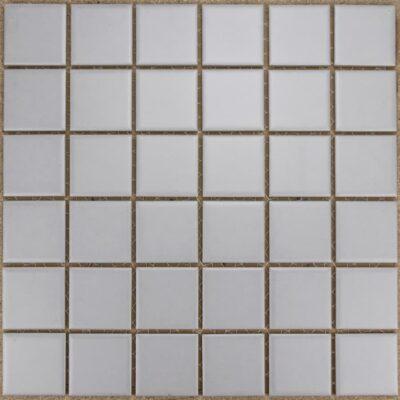 Guocera AMS 13004 Grijs Licht 4,8x4,8 Mozaïek 30,5x30,5cm