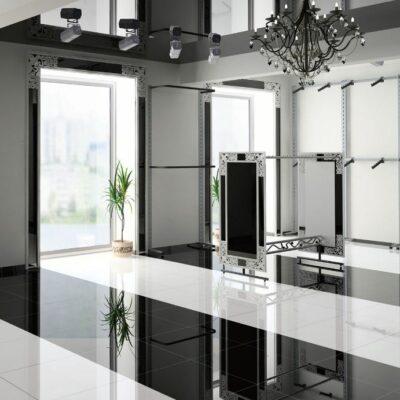 Durastone Super Negro 60x60cm_sfeerfoto
