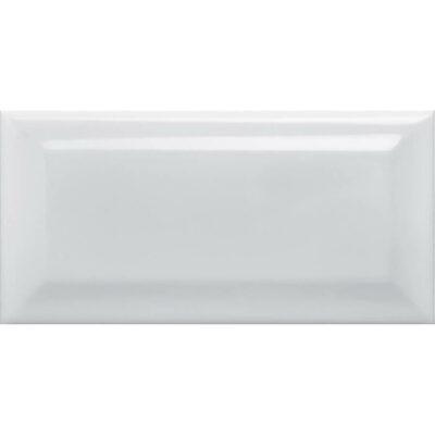 Equipe Metro White Glossy 10x20cm_2